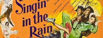 Singin' in the rain locandina